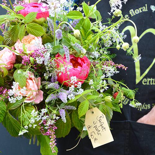 Bouquet de fleur Boutique Maison Vertumne