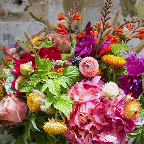Bouquet de fleurs Maison Vertumne Paris