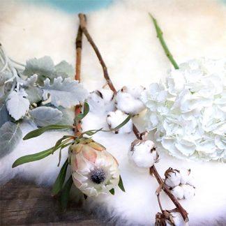 Cours d'art floral Bouquet Moumoute